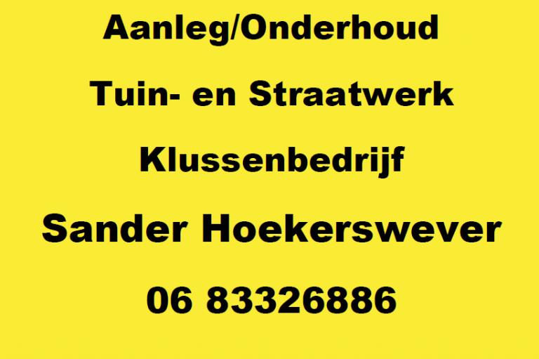 Sander Hoekerswever
